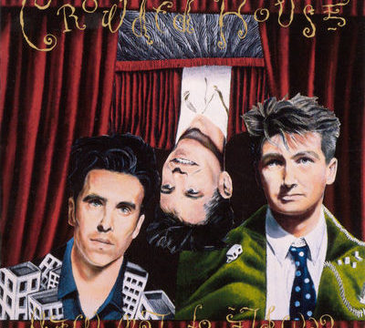 cover image from the album temple of low men by crowded house